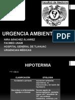 URGENCIA AMBIENTAL