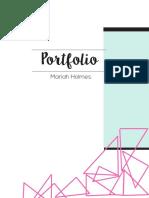 Mariah Holmes Portfolio