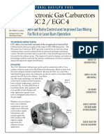 EGC2 - EGC4 Electronic Gas Carburetor