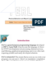 Perl Learning