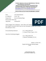 Formulir Permohonan Dosen Pembimbing Pengganti Skripsi