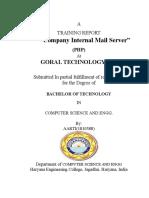 company internal main server
