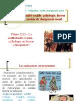 Thème 2212 -  conflits sociaux pathologie ou facteur d'insertion.ppt