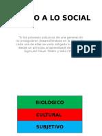 Sujeto a Lo Social