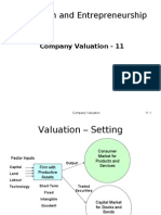 company valuation