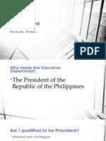 Executive Department