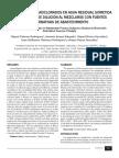 Plaguicidas Organoclorados en Agua Residual