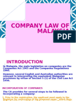 COMPANY Law - Business Law Notes