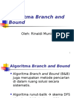 Algoritma Branch and Bound (Bagian 1)