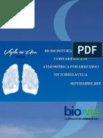 Biomonitorización de la contaminación atmosférica por mercurio en Torrelavega