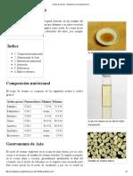 Aceite de Sésamo - Wikipedia, La Enciclopedia Libre