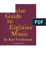 A Concise Guide to Eighties Music