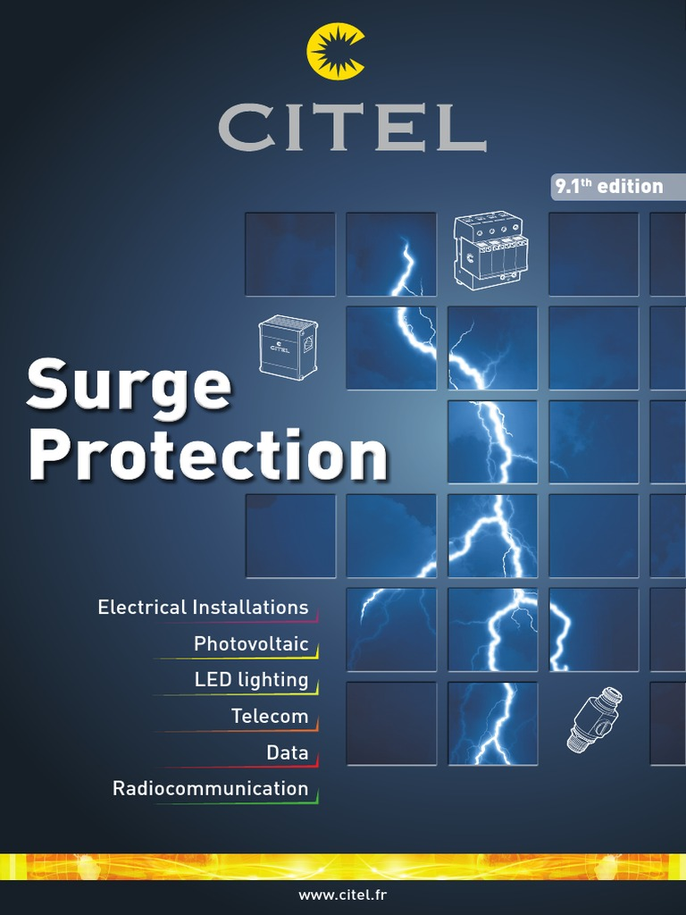 Citel General Catalog Fuse Electrical Lightning Robust 12vdc And 24vdc 8vdc To 34vdc 5v Dc Converter