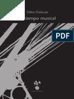 Deleuze, G. - El Tiempo Musical [Bilingüe]. México, El Latido de La Máquina, 2015