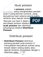Presentasi Distribusi Poisson