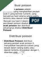 Presentasi Distribusi Poisson