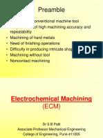 1 Electrochemical Machining (ECM)- SBP