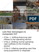 Financial Shenanigans Cashflows