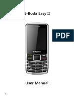 E-Boda 2, Easy II Dual SIM User_manual_en_ro
