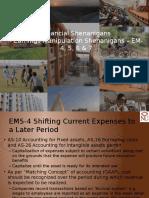 Financial Shenanigans EM 4 5