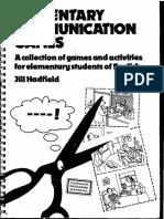 Communication Games (Elementary)