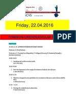 Escvs Common cardiovascular Program