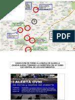 Casos Ovni en Torno a La Muela de Alarilla- Guadalajara ( i Alerta Ovni )
