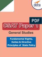 CSAT Paper 1 General Studies
