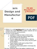 L6-Pattern Design and Manufacture