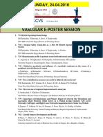 Escvs Program for VASCULAR E=POSTER session on 24.04.2016