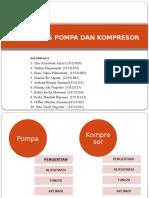 Jenis – Jenis Pompa Dan Kompresor