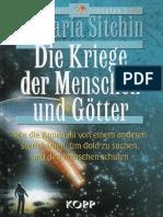 Sitchin, Zecharia - (Erdchronik 3) Die Kriege Der Menschen Und Götter (2004, 284 S , Text)