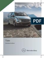 Manual Mercedes Viano w639