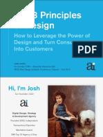 8 Principles of Design by Josh Levine