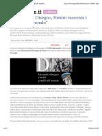 1.4.2016, 'Biennale Del Disegno, Rimini Racconta i - Profili Dal Mondo', IlGiornale