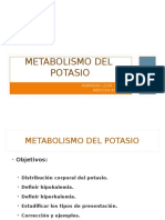 12 Metabolismo Del k Dr Leon