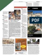 19.3.2016, 'Palazzi, Musei e Castelli Spalancano Le Porte', Il Secolo XIX