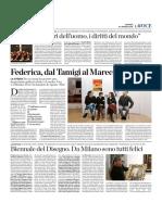 31.3.2016, 'I Diritti Dell'Uomo i Doveri Del Mondo', La Voce Di Romagna