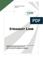Straight Lines Conceptsdssd-241
