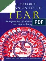 Blackburn, Oxford Companion to the Year2