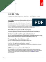 Adobe CC Certification Faqs