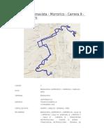 Ruta Nº 2 Buenavista - Morrorico - Carrera 9 - Canelos - Inem