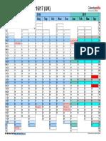 Financial Calendar 2016 2017 Landscape Days Aligned