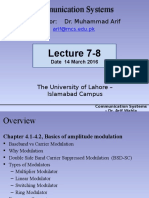 Lecture 7-8 Dsb-sc Am Mod i - At