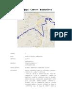 Ruta Nº 3 La Joya - Centro – Buenavista