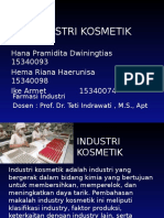Industri Kosmetik Ppt