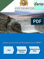 Proyectos de Inversión Pública 2015