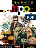 Abu Dhabi Magazine April Issue focusing on happening events, community, news and more..