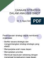 147307565 Perencanaan Strategi Dalam Analisis Swot