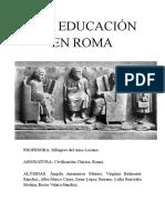 LA+EDUCACIÓN+EN+ROMA.pdf